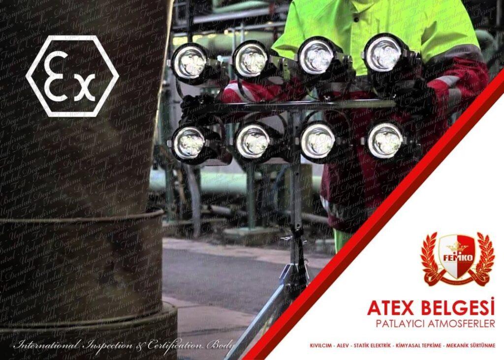 Atex Belgesi Exproof Ürünler