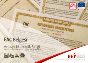EAC Belgesi – Avrasya Ekonomik Birliği