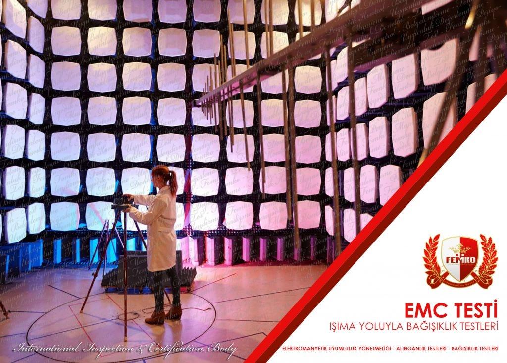 EMC Testi – Işımayla Bağışıklık (Alınganlık)