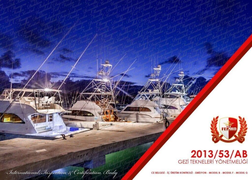 Gezi Tekneleri CE Belgesi