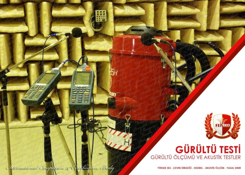 Gürültü Testi ve Akustik Ölçümler