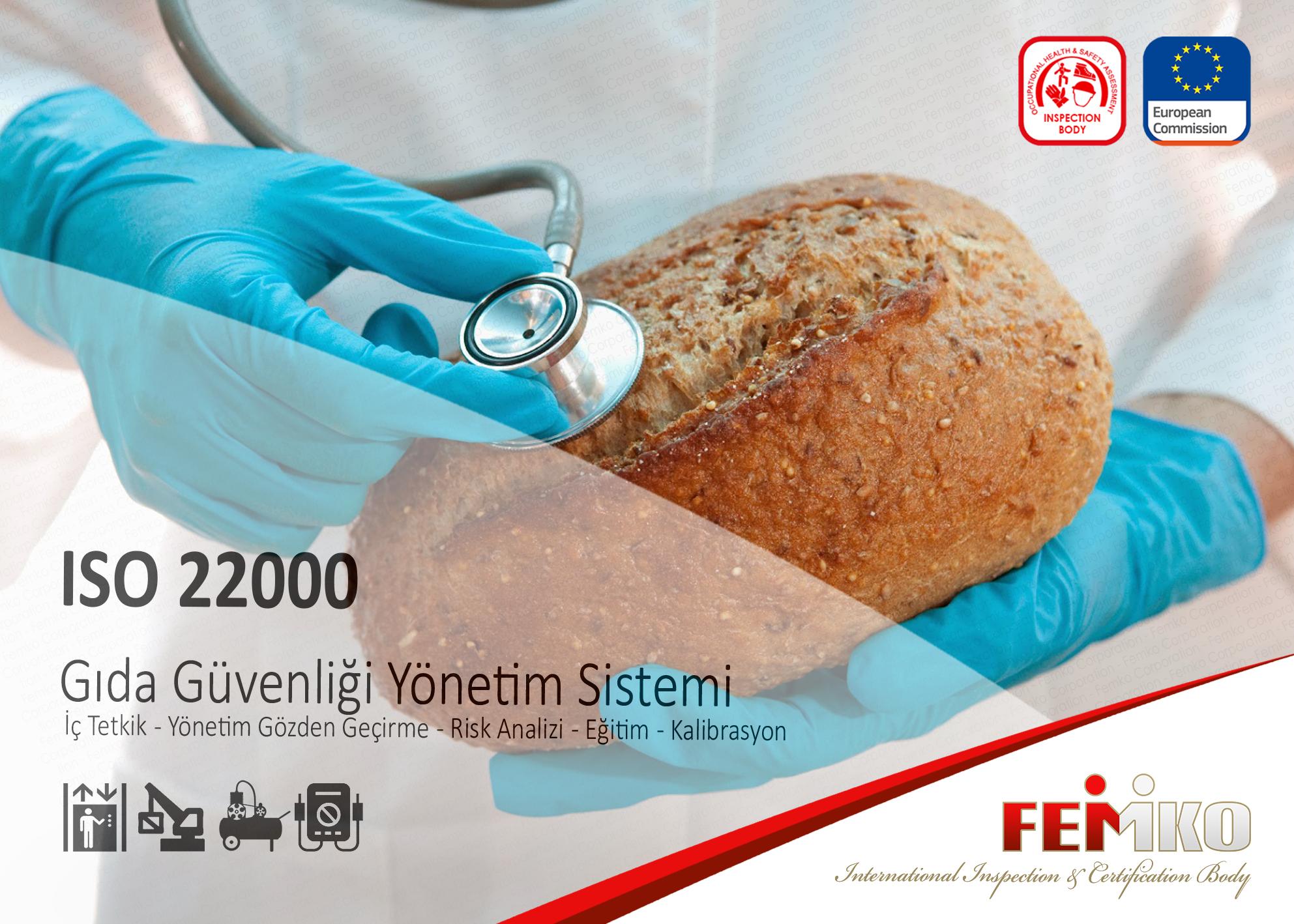 Gıda Güvenliği Yönetim Sistemi – ISO 22000 Belgesi