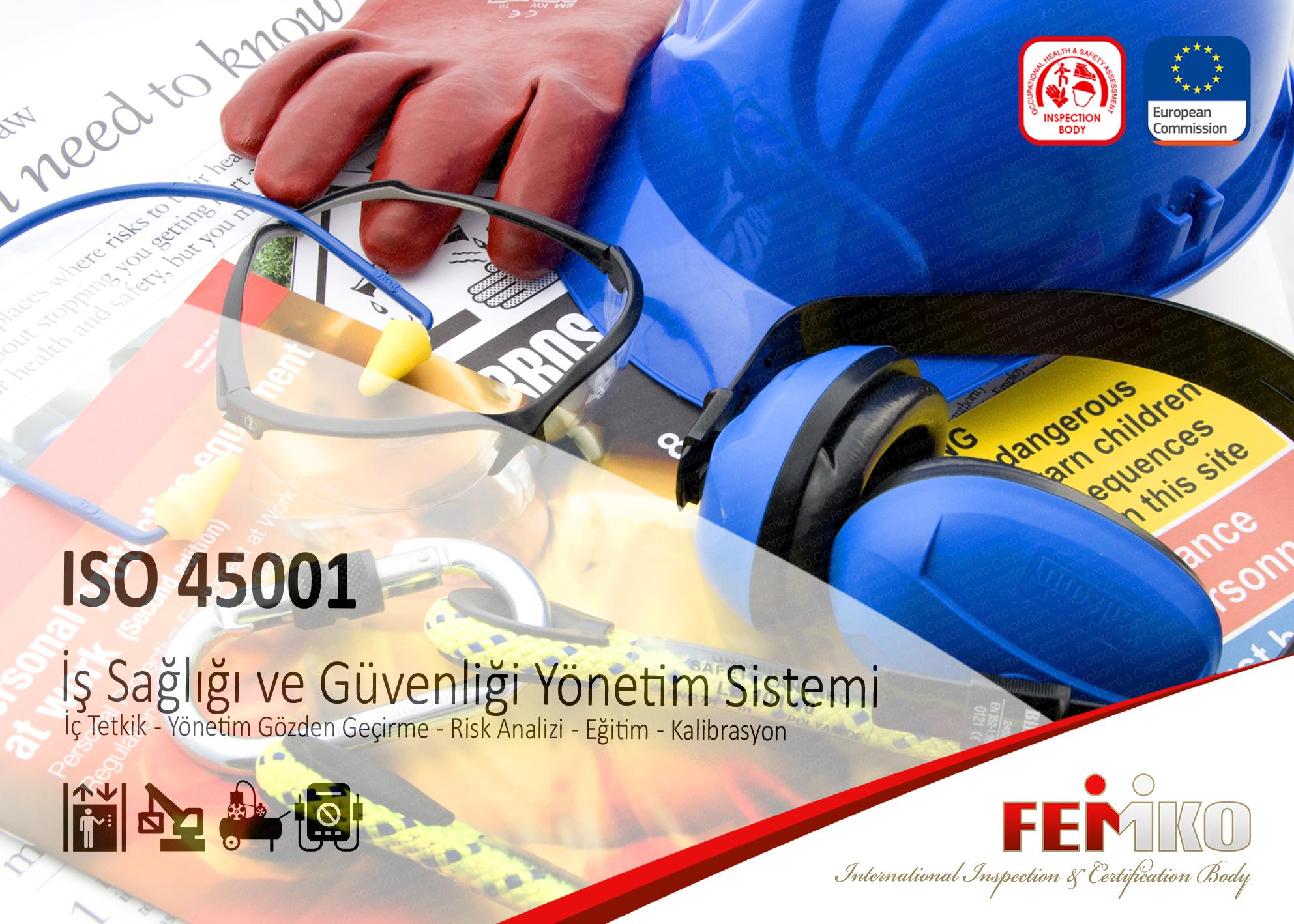 İş Sağlığı ve Güvenliği Yönetim Sistemi – ISO 45001 Belgesi