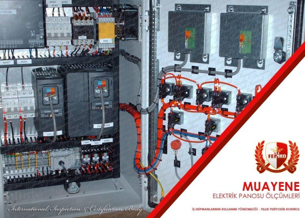 Elektrik Pano Ölçümü Periyodik Kontrol