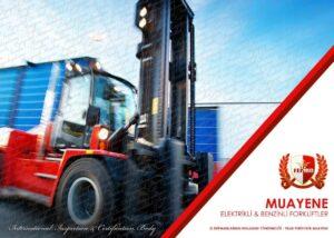 Forklift Periyodik Kontrol Muayenesi