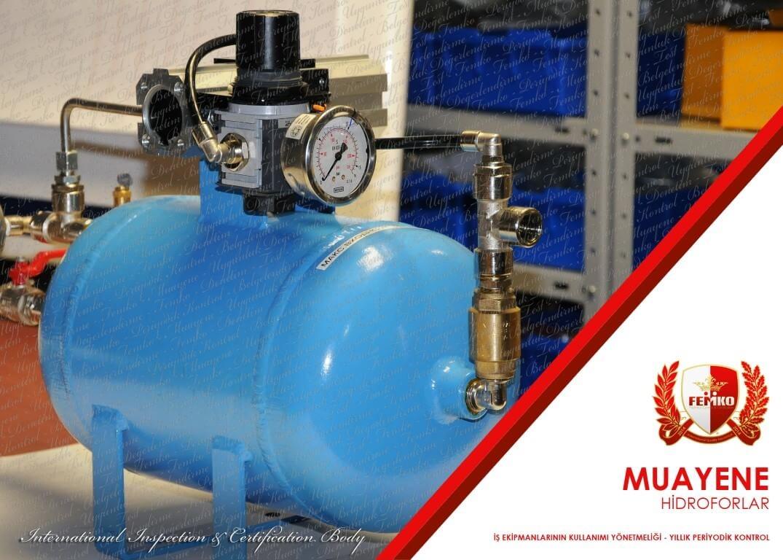 Hidrofor Periyodik Kontrol Muayenesi
