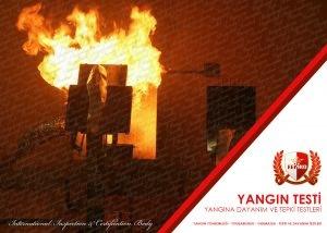 Yangına Dayanım ve Tepki Testleri