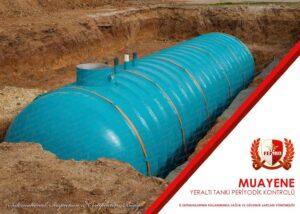 Sıvılaştırılmış Yeraltı Gaz Tankları Periyodik Kontrol