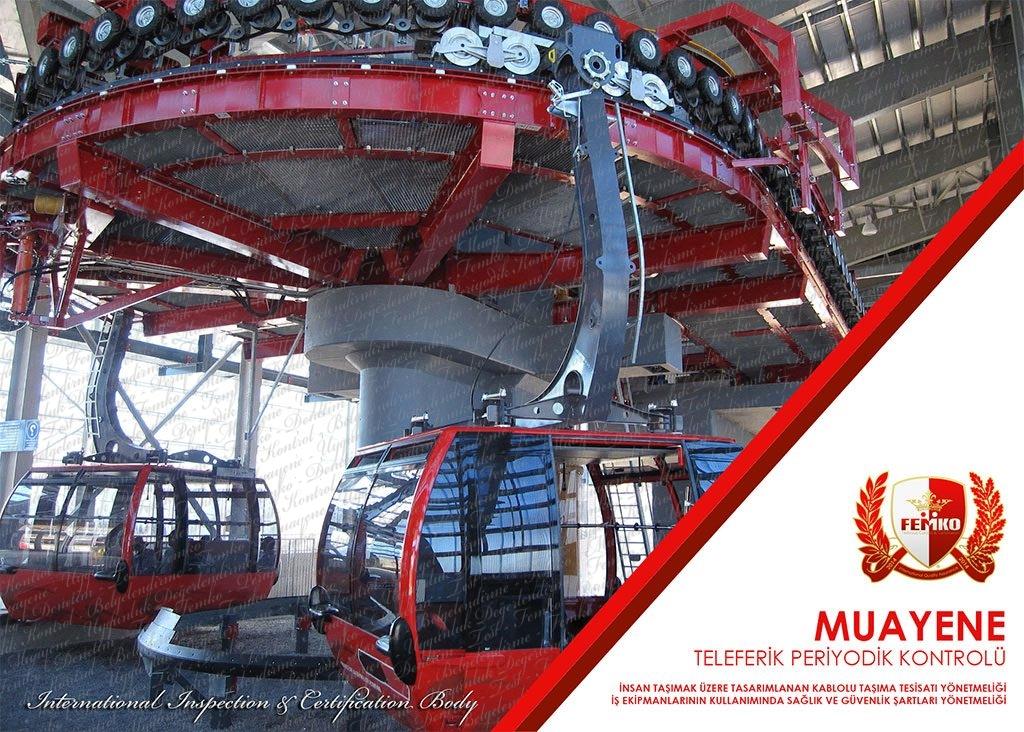 Teleferik Periyodik Kontrol Muayenesi