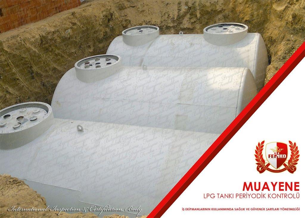 Lpg Tankı Periyodik Kontrol Muayenesi