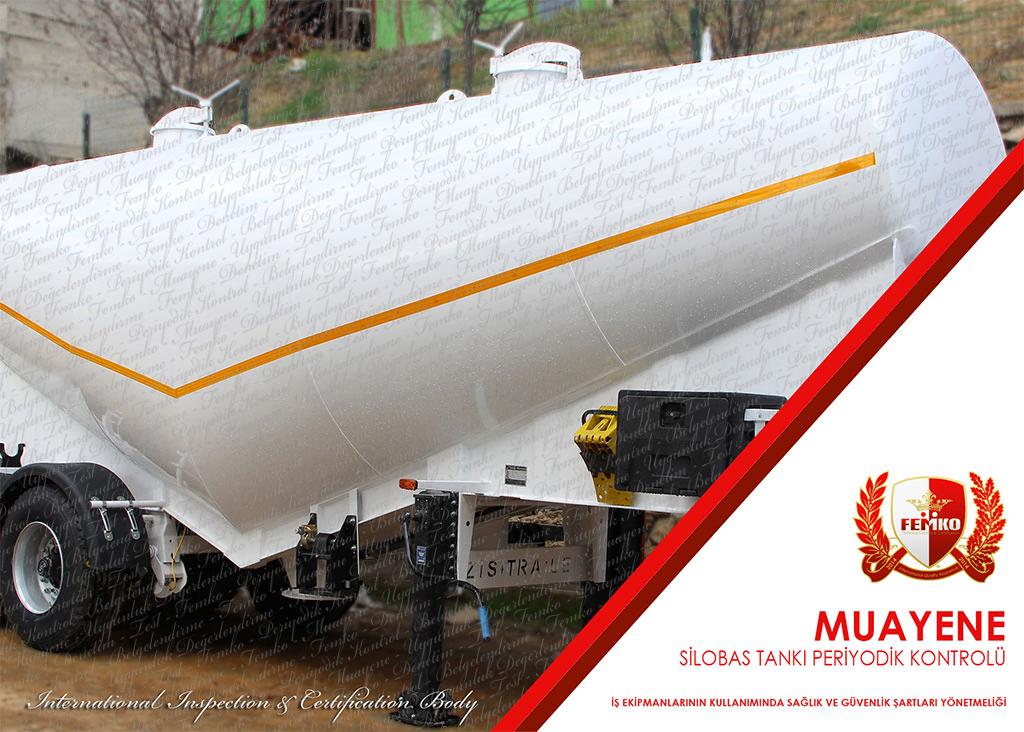 Silobas Tankı Periyodik Kontrol Muayenesi