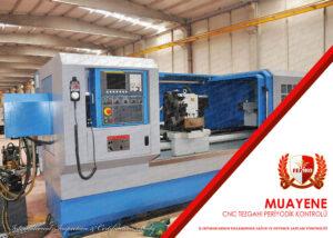 CNC Tezgahı Periyodik Kontrol Muayenesi
