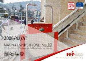 Engelli Asansörü CE Belgesi EK 4