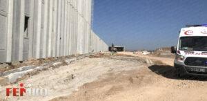 Bilecik'te Forklift'in Beton Bariyere Çarpması Sonucunda 1 İşçi Yaralandı