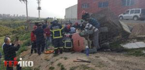 Kocaeli Dilovası'nda İş Kazası Geçiren İşçi Forklift'in Altında Kaldı