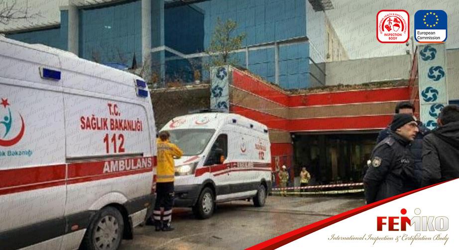 İstanbul Ümraniye'de Cam Fabrikasında Kazan Patladı