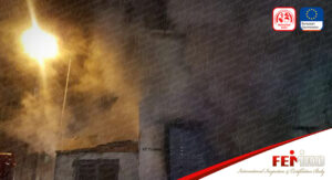 İstanbul'da Mobilya İmalathanesinde Yangın