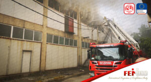 İstanbul Pendik'te Fabrika'da Yangın Çıktı