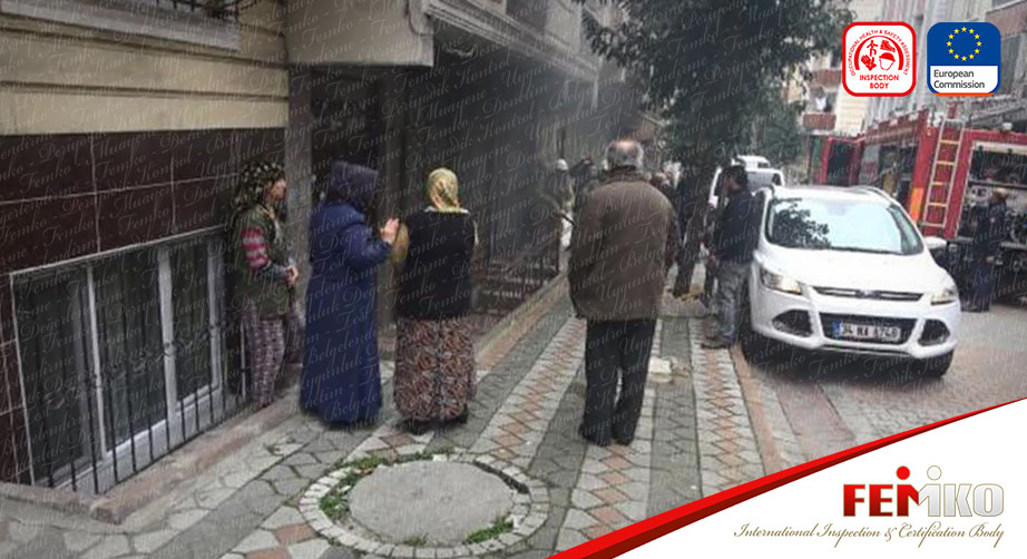 İstanbul'da Tekstil Atölyesinde Yangın