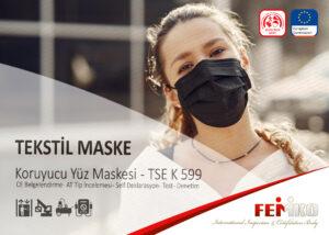 Tekstil Yüz Maskesi CE Belgesi
