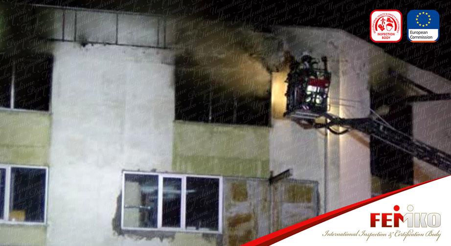 Tuzla'da Sanayi Sitesinde Yangın