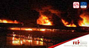 Antalya'da Soğuk Hava Deposunda Büyük Yangın