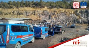 Beypazarı'nda Kömür İşletmesinde İş Kazası