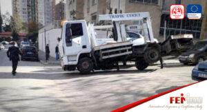 Bursa'da Çekicinin İş Kazası