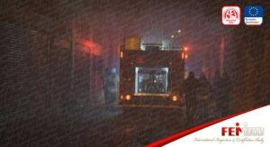 İzmir'de Mobilya Fabrikasında Çıkan Yangın Söndürüldü