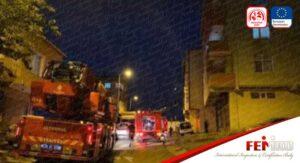 Ataşehir'de Ambalaj Deposunda Yangın Paniği