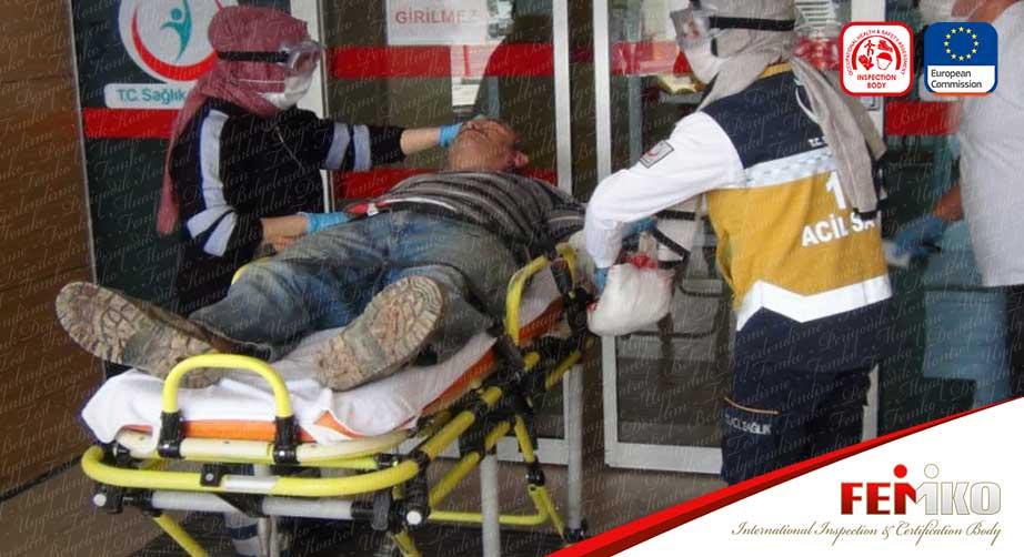 Bursa'da İş Kazası! Elini Tornaya Kaptıran Mobilya İşçisi Yaralandı